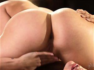 vagina eating beauties Mia Malkova and AJ Applegate