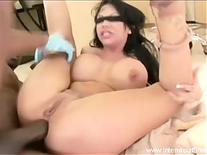 She drizzles On big black cock For fun