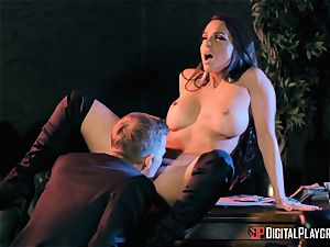 Abigail Mac takes on the monster penis of Danny D