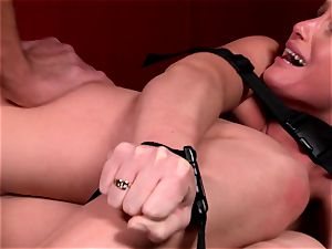 Kathia Nobili is taking a bound up plowing