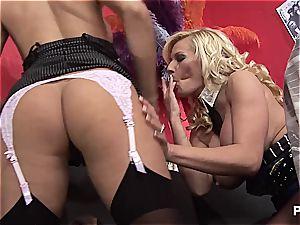 Michelle munching Natasha's cunny