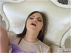 outstanding Anna Taylor in high stilettos getting boinked