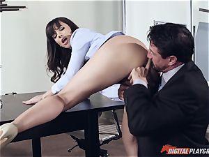 Dana DeArmond and Tommy Gunn fuckin' in the office