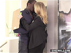 wife Britney Amber drills famous football players big black cock