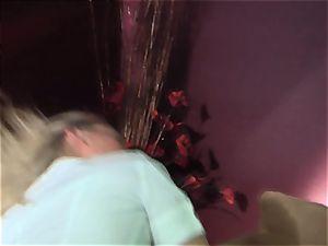 mischievous tramp Devon Lee luvs getting romped rear end style