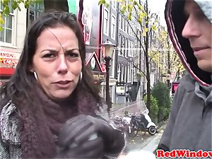 Dutch call girl pussyfucked after dicksucking