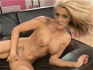 Natasha Marley loves teasing her jiggly raw muff