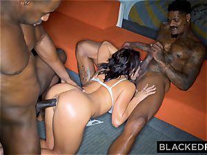 BLACKEDRAW Adriana Chechik Needs A dual portion Of big black cock