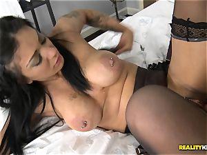 Mai Bailey porks on camera for a tasty deal
