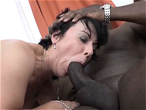 hotwife instructing Wathcing wife have very first interracial