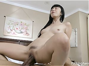 Only enormous black fuck-sticks can smash her vagina the way she enjoys it