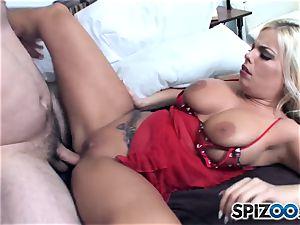 Britney Amber loves some hefty massive fuck-stick in her appetizing rump