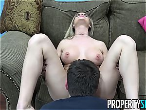 Realtor Jessa consults her stepcousin's spunk-pump for free