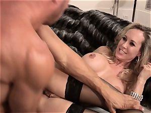 Brandi enjoy penetrates a dude in stylish sundress