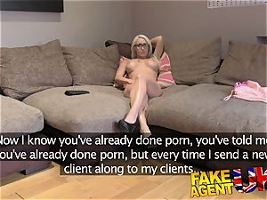 FakeAgentUK cute Hungarian stunner with great mounds