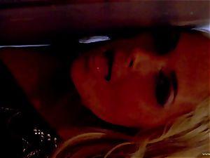 Sarah Vandella unsheathes her ideally chubby hooters