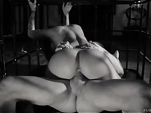 domination & submission porn with exotic latina Susy Gala and an experienced plower Nacho Vidal