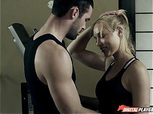 Kayden Kross fucks her trainer Charles Dera