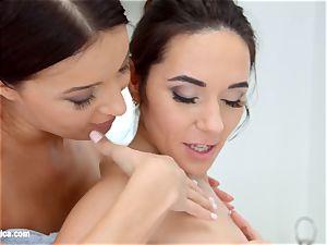 Kerry virgin and Roxy Dee having girl/girl orgy on girl/girl Erotica