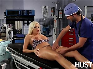 sexy Britney Amber boned during doctors check-up