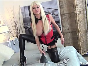 domme Nikita tells you what she wants to do to you