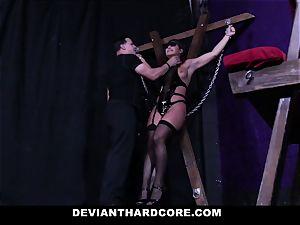 abnormal hardcore - anal invasion stunner Abella ferociously smashed
