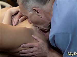 older fellow youthful hd Can you trust your gf leaving her alone with your dad?