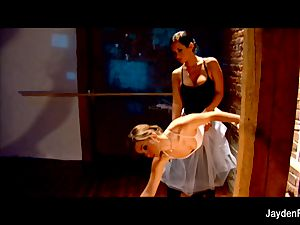 jaw-dropping ballet lessons w Jayden Jaymes