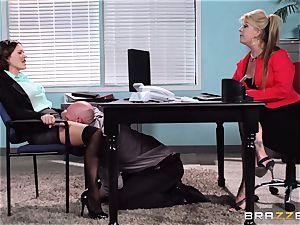 Krissy Lynn endures her harshest interview