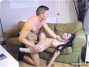 mind-blowing brown-haired Peta Jensen packed in her appetizing cooter