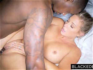 BLACKEDRAW ash-blonde trophy wifey Cucks Her husband With bbc