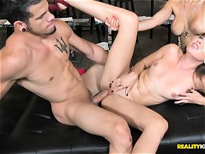 Melissa Moore and Nicole Bexley pounding sessions