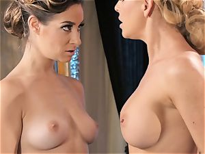 Dancing turns muddy with Cherie Deville and Cassidy Klein