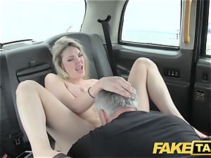 faux taxi supah super-hot blonde with a excellent figure likes meatpipe