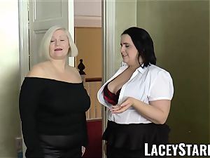 LACEYSTARR - girls jizzed on their steamy faces by bbc