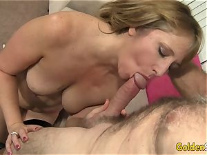 super hot to Trot mummy Catrina Costa Takes a phat beef whistle