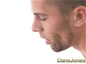 DaneJones towheaded teenager ravages hefty lollipop using fuck-fest toy