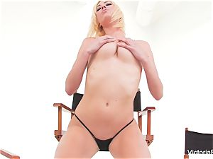 marvelous babe Victoria white demonstrates off her outstanding body