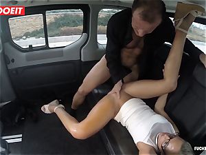 Czech customer Vinna Reed gets romped in cab