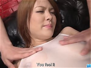 Subtitles - japanese sweetie Rei gets rod in her nice