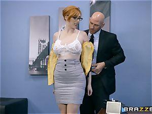 beef whistle thirsty Lauren Phillips porked in her ginger twat