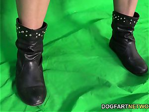 Behind The sequences With Amirah Adara at DogFart Network
