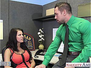 huge-chested office honey Peta Jensen romping
