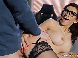 Amina Danger getting pulverized by a meaty hard-on