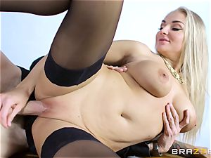 Frustrated wifey Kayla Green gets Danny Ds huge man meat