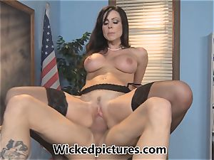 sleepy college girl is porked by instructor Kendra passion