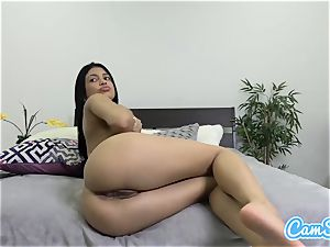 lubricated latina rectally playthings