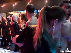 buzzed chick when the drink ready for free fuck-a-thon