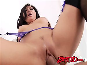 Asa Akira internal ejaculation popshot